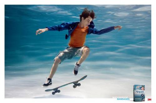 Nexcare Bandages 3M: Skateboard