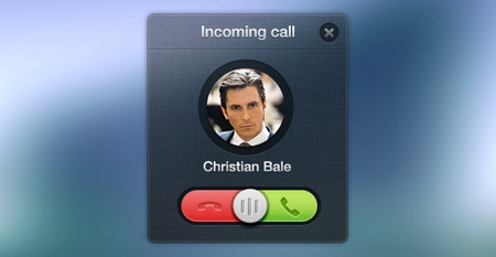 Incoming Call – Mobile UI (PSD)