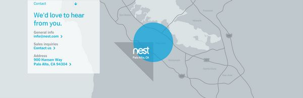 Contact from Nest