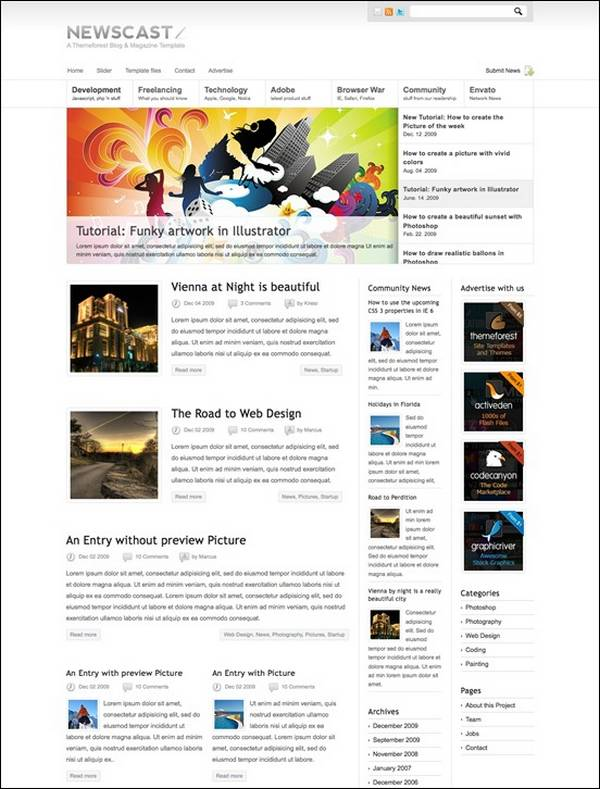 Newscast – WordPress Magazine and Blog