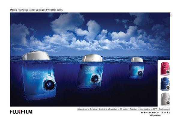 Fujifilm Finepix Cameras : Icebergs