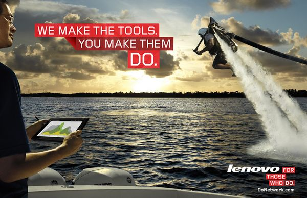 Lenovo : We Make the Tools