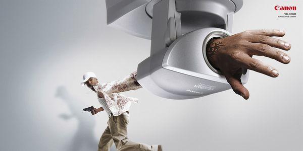Canon : Surveillance Camera