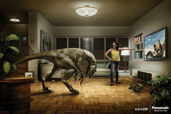 Panasonic : Viera 3D