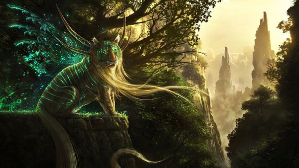 fantasy art creatures artwork