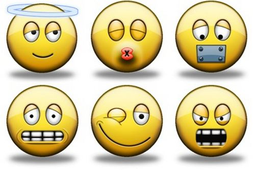 Iconset: Shiny Smiley Icons by Icon Icon (16 icons)