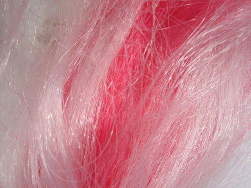pink hair texture
