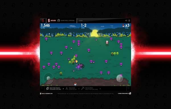 HTML5 websites : Atari Arcade