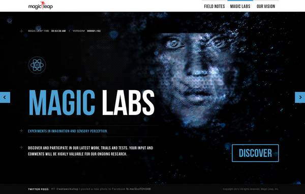 HTML5 websites : Magic Leap