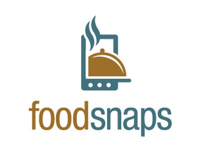 Foodsnaps - creative mobile phone logo