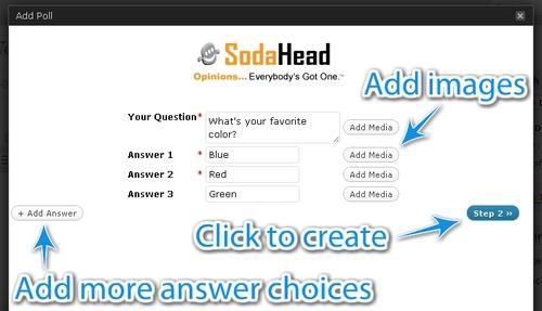 SodaHead Polls (Free)