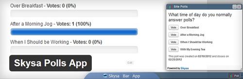 Skysa Polls App (Free)