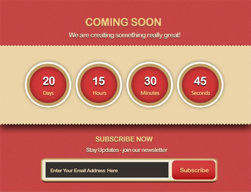 "Design an Appealing, Effective ""Coming Soon"" Page"