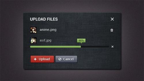 Upload PSD