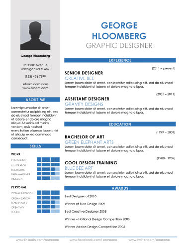 Boast - free resume templates