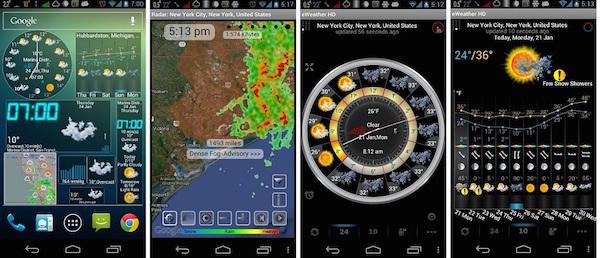 eWeather HD, NOAA Radar,Alerts