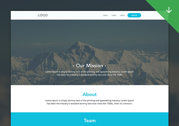 no-2-Web-template-psd