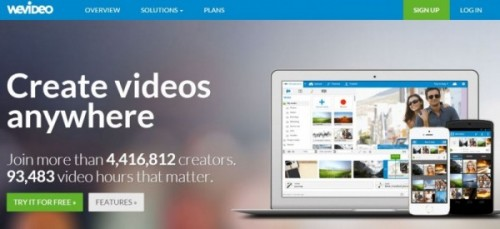 WeVideo - best free video editing software