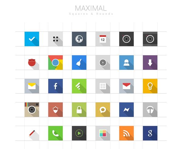 Maximal Icons
