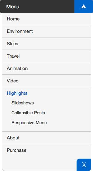 Image 1 - wordpress responsive menu