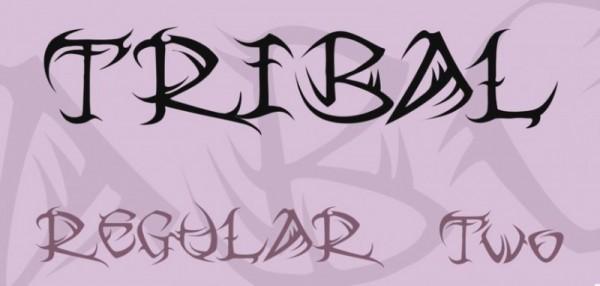 10-tribal-font