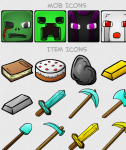 75 Awesome Minecraft Icons