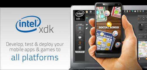 Intel xdk - best html5 mobile app frameworks