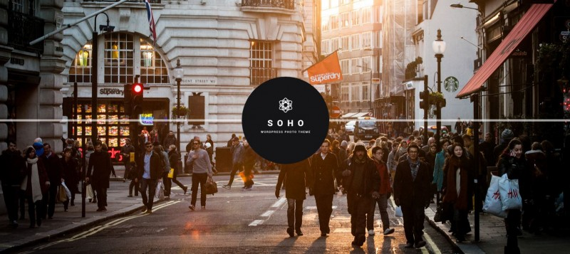 3-Soho - WordPress Theme