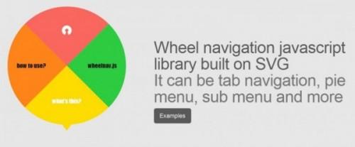 4-wheelnav - Wheelnav.Js -- SVG Based