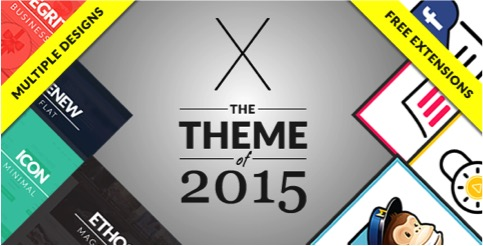 The X Theme customizable-wordpress-themes1