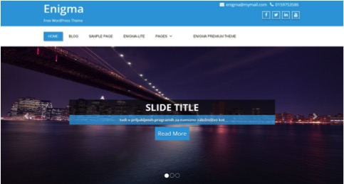 Enigma customizable-wordpress-themes7