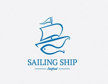 8-sailing-ship - logo of boat