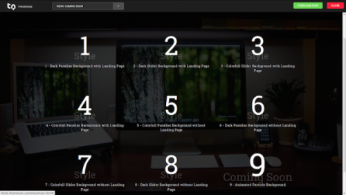 10. Neno - Coming Soon WordPress Themes