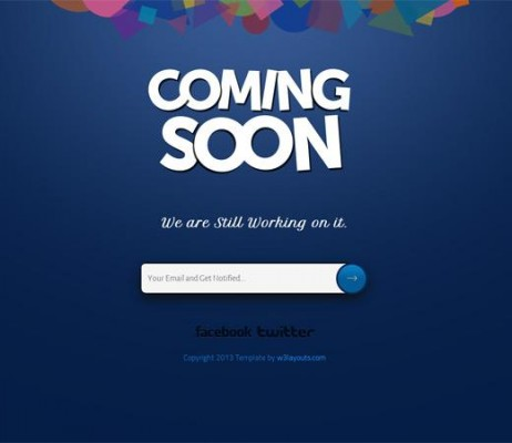 3. Coming soon Under Construction - Coming Soon WordPress Themes
