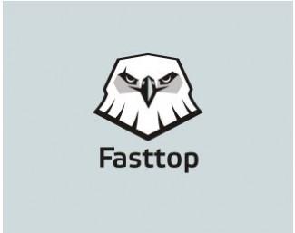 FastTop - eagle logos design
