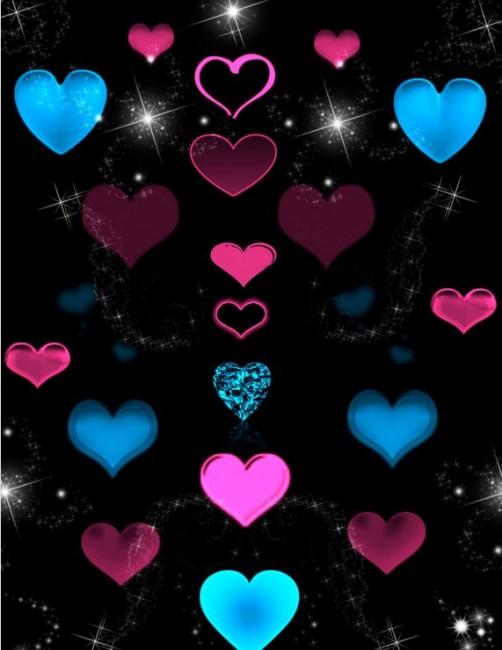 Heart Love Brush PS7 - love heart brushes photoshop