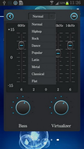 best equalizer settings android