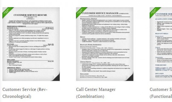 Resume Genius Customer Service Resume Samples - customer service resume in word format