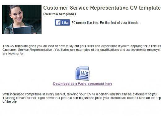 Career Advice Resume sample - customer service resume quotes