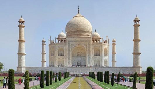 13. TajMahal - famous architecture taj mahal