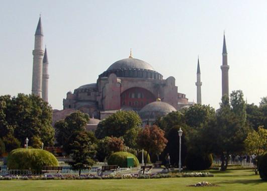 14. Hagia Sophia