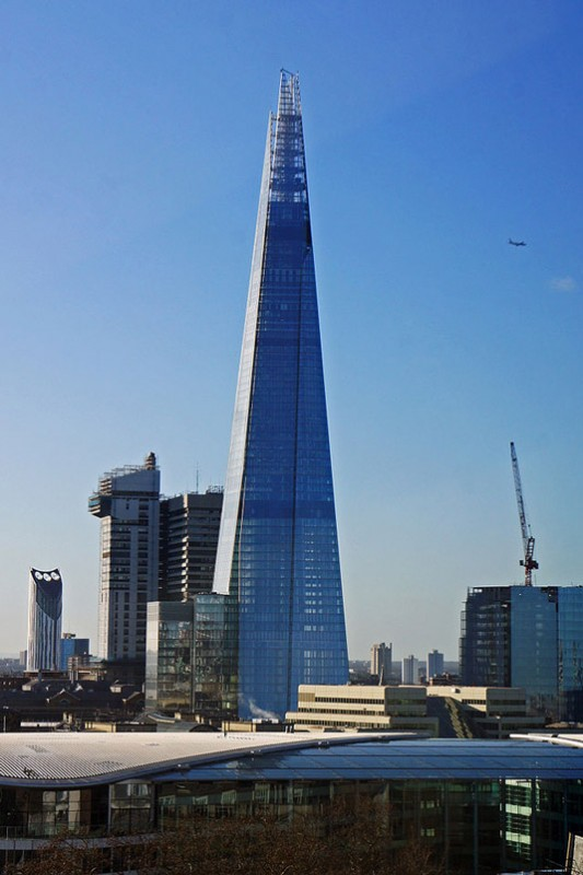 18. The Shard, London - famous glass architecture