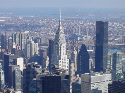 19. Chrysler Building, NYC - famous modern architecture