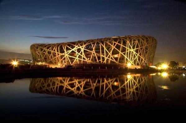 6. Beijing National Stadium - famous architecture styles