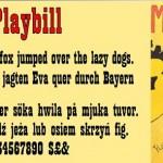 Playbill Font A Bold Corporate Font