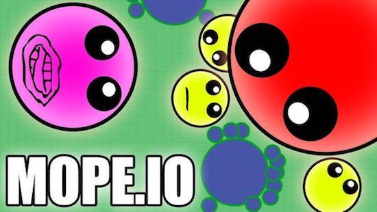Mope.io - Massive Multiplayer Online (MMO)