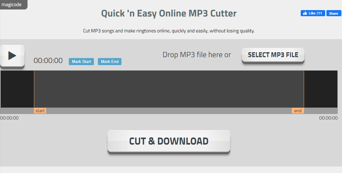 online mp3 cutters