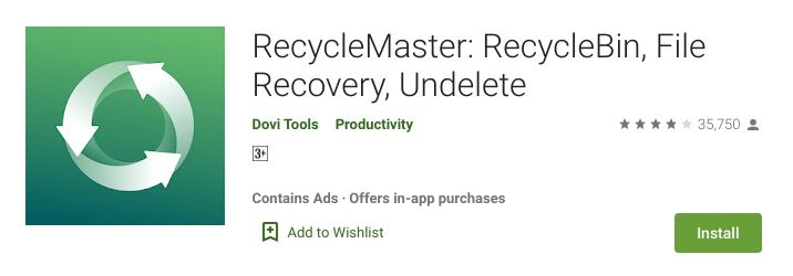 recycle bin apps