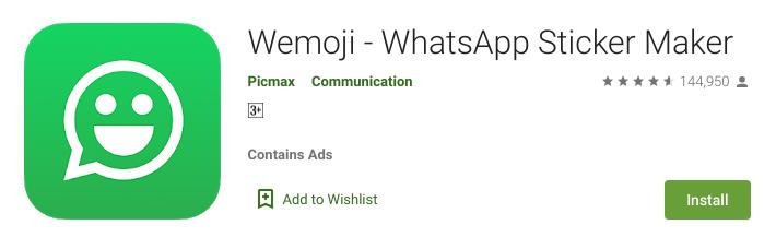 5. Wemoji (Android)