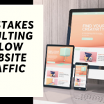 6 mistakes resulting in low website traffic